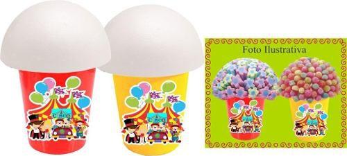 Kit Decorativo Infantil Circo 292 Peças