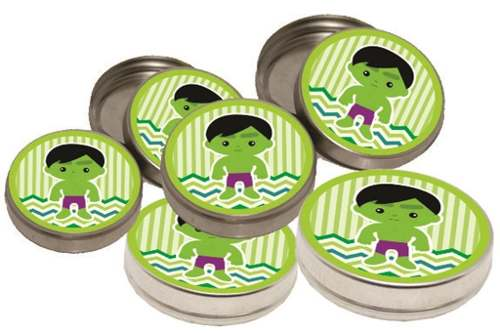 Kit Festa Infantil Hulk Baby 178 Pças