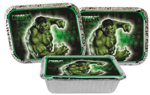 Kit Festa Infantil Hulk 292 Peças