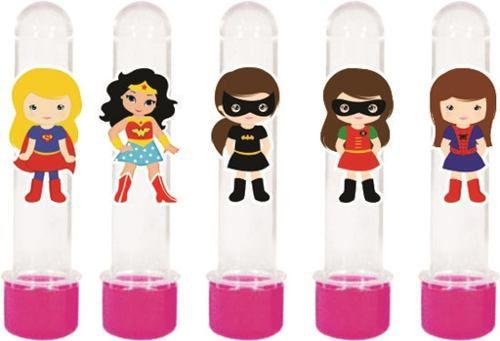 Kit Festa Infantil Super Heroínas 178 Pças