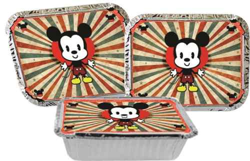 Kit Festa Infantil Mickey Vintage 160 Peças