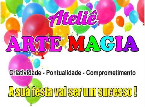 Kit Festa Infantil Masha E O Urso (pink E Amarelo) 292 Peças