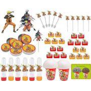 Kit Festa Infantil Naruto 265 Peças