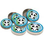 10 latinhas panda menino