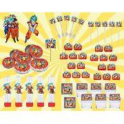 Kit Festa Infantil Dragon Ball Super 107 Peças