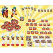 Kit Festa Infantil Dragon Ball Super 161 Peças