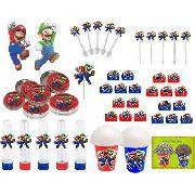 Kit Festa Infantil Mario Bros 265 Peças