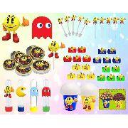 Kit Festa Infantil Pac Man 265 Peças