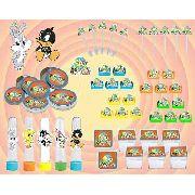 Kit Festa Infantil Looney Tunes Baby 107 Peças