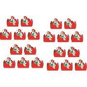 50 Forminhas Pequena Sereia