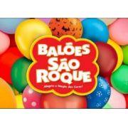 Balão vermelho São Roque nº 7 pacote com 50 unidades