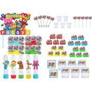 Festa Pocoyo (colorido) 171 peças (20 pessoas)