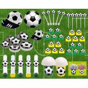 Kit Festa Futebol (verde E Amarelo) 143 Peças