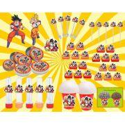kit festa infantil Dragon Ball Z 143 peças