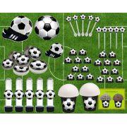 Kit Festa Infantil Futebol (preto) 143 Peças
