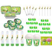 Kit festa Tinker Bell (Sininho) 160 peças