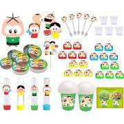 Kit festa Turma do Cebolinha Toy 155 peças