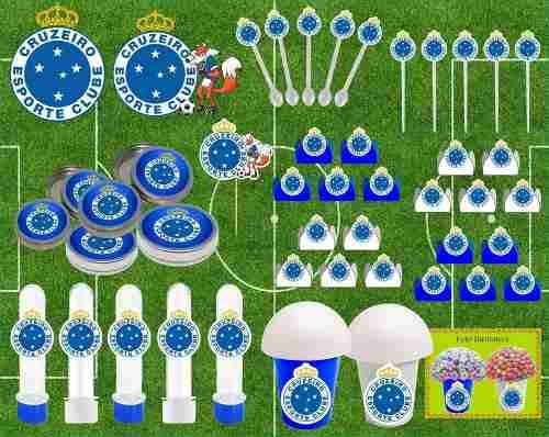 Kit Festa Time Cruzeiro 265 Peças