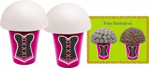 Kit Festa Chá De Lingerie (pink E Preto) 99 Peças