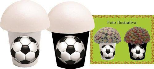 Kit Festa Futebol (preto E Branco) 143 Peças
