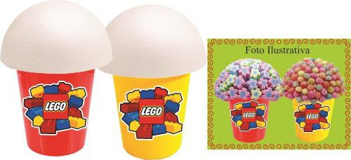 Kit Festa Infantil Lego 99 Peças