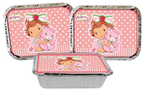 Kit Festa Infantil Moranguinho Baby 160 Pças