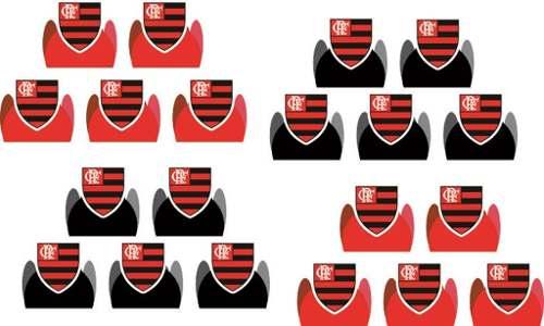 Kit Festa Time Flamengo 107 Peças