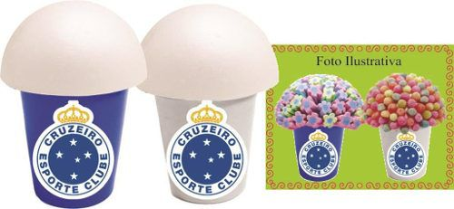 Kit Festa Time Cruzeiro 143 Peças