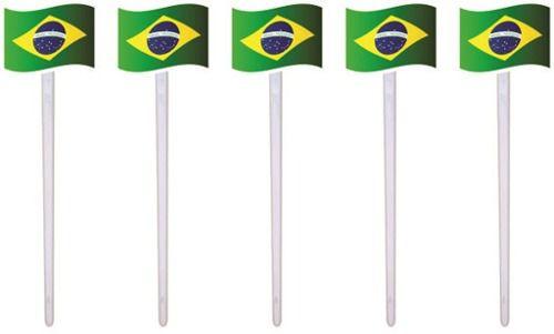 Kit Decorativo Do Brasil 160 Peças