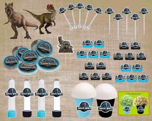 Kit Festa Infantil Jurassic Park 143 Peças