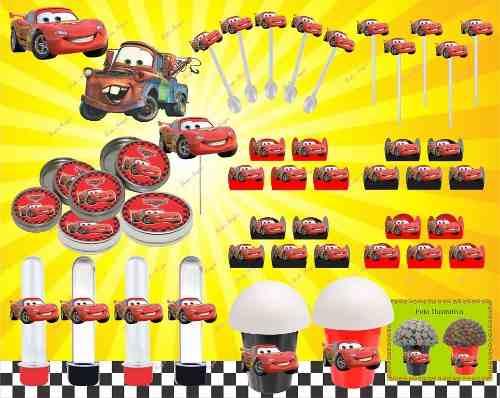 Kit Festa Infantil Carros 143 Peças