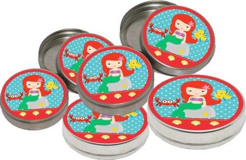 Kit Festa Infantil A Pequena Sereia Baby (cute) 155 Peças