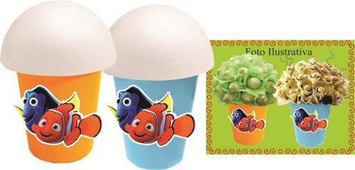 Kit Festa Infantil Procurando Nemo 265 Peças