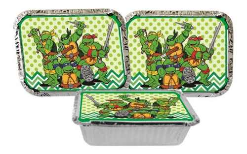 Kit Festa Infantil Tartarugas Ninja 114 Pças