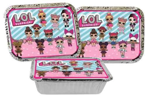 Kit Festa Lol Surprise (pink E Lilás) 110 Peças