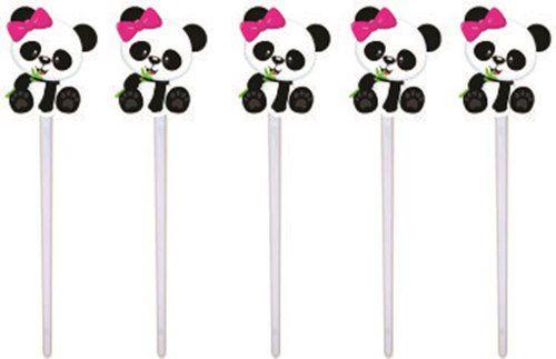 Kit Festa Infantil Panda Menina 106 Peças