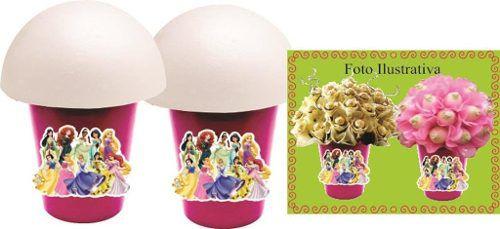 Kit Festa Infantil Princesas 143 Peças