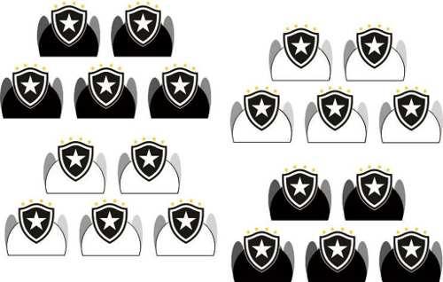 50 Forminhas Time Botafogo