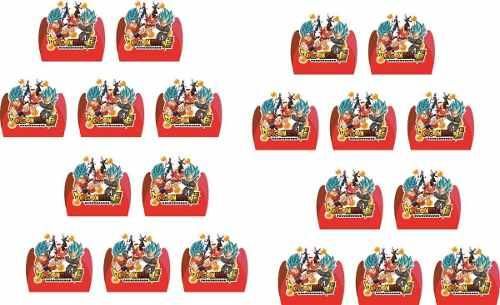 50 Forminhas Dragon Ball Super