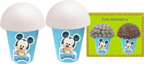 Kit Festa Infantil Mickey Baby 352 Peças