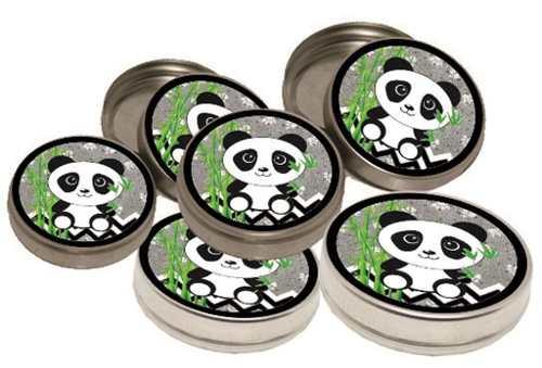 Kit Festa Infantil Panda (preto E Branco) 352 Peças