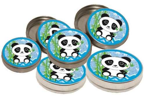 Kit Festa Infantil Panda (azul) 352 Peças