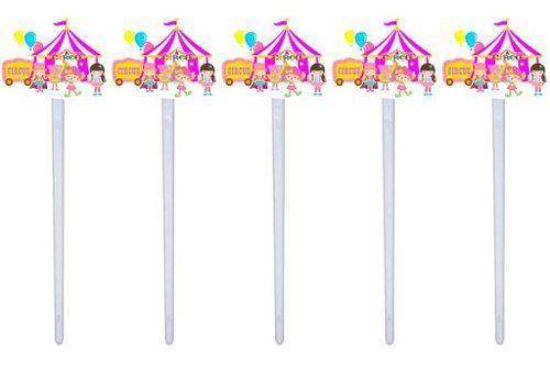 Kit Festa Infantil Circo Menina 293 Pças