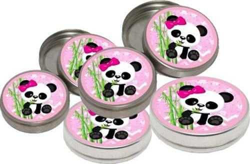 Kit Festa Infantil Panda Menina (rosa) 143 Peças