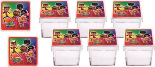 Kit Festa Infantil Mini Beat Power Rockers 107 Peças