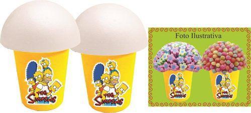 Kit Festa Infantil Os Simpsons 160 Peças