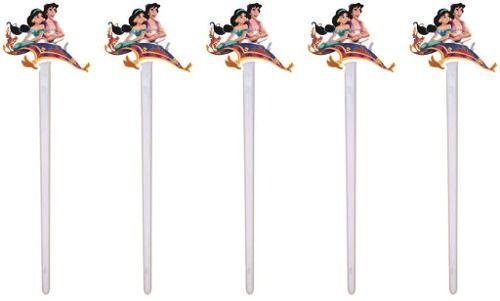 Kit Festa Infantil Aladdin E Jasmine 292 Peças