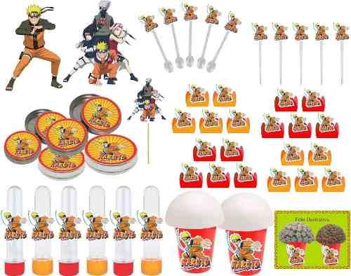 Kit Festa Naruto 99 Peças