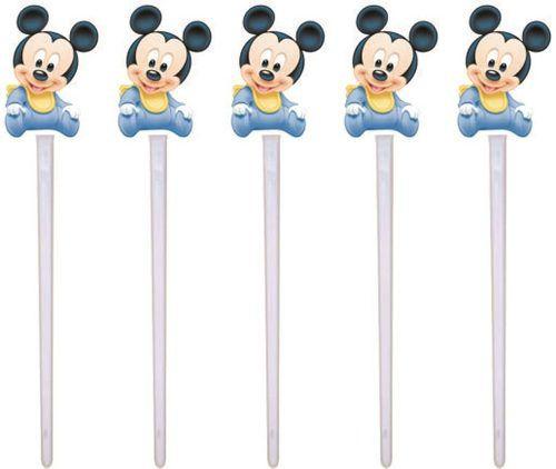 Kit Festa Infantil Mickey Baby 143 Peças