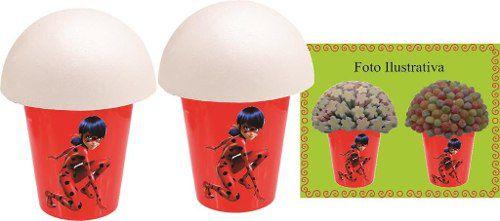 Kit Festa Infantil Lady Bug (miraculous) 160 Peças